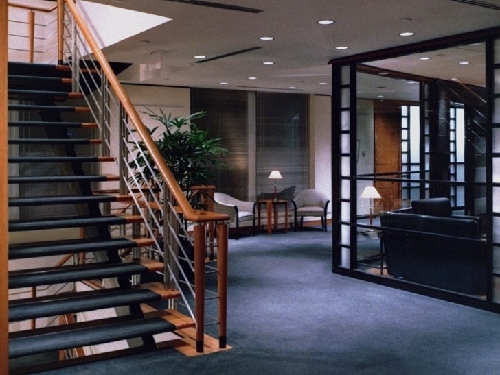 28 office stairs design stylish and inspiring space for Office stairs design